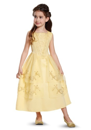 Click Here to buy Belle Ball Gown Classic Kids Costume from HalloweenCostumes, USA Funds & Shipping
