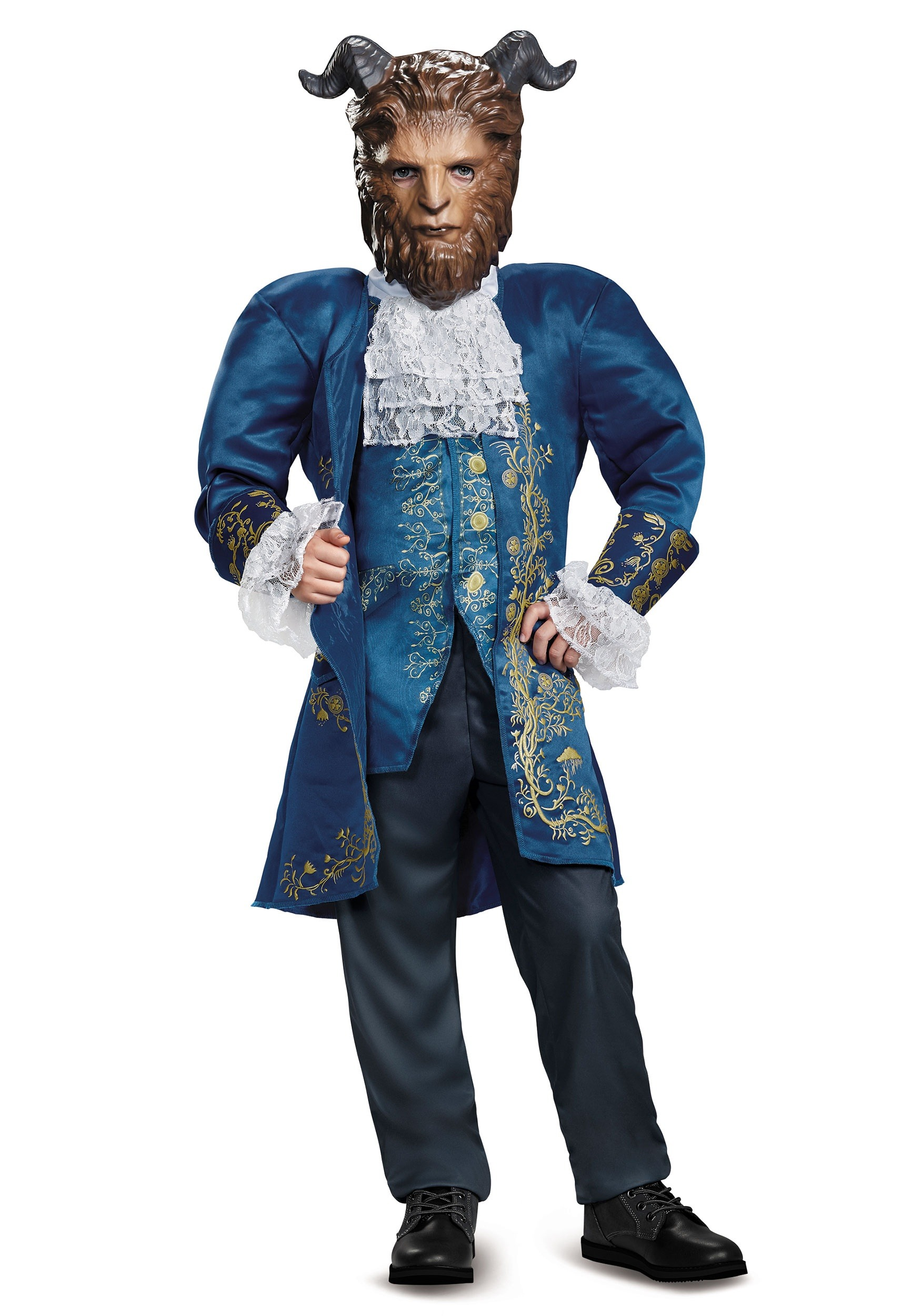 Beauty and the Beast Deluxe Beast Boys Costume  sc 1 st  Halloween Costumes & Beauty and the Beast Deluxe Beast Costume for Boys