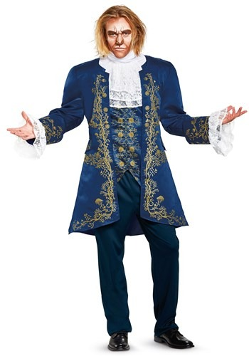 Click Here to buy Beauty and the Beast Prestige Beast Mens Costume from HalloweenCostumes, CDN Funds