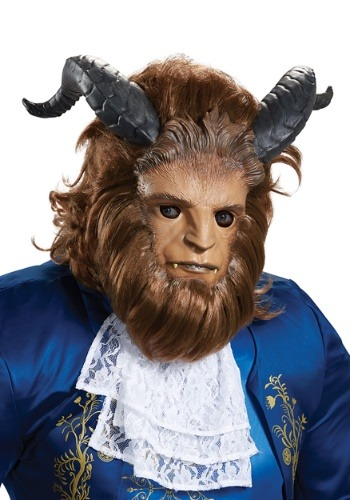 Click Here to buy Beauty and the Beast Ultra Prestige Beast Mask from HalloweenCostumes, CDN Funds