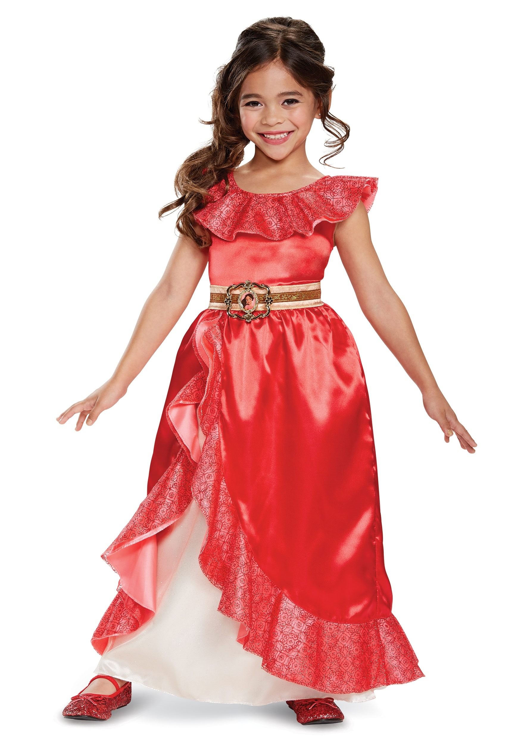 Elena Of Avalor Adventure Outfit Deluxe Costume For Girls