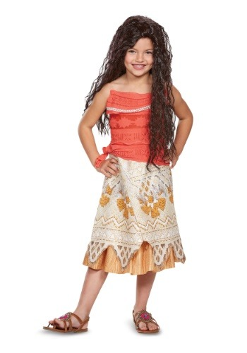 Click Here to buy Disney Moana Classic Girls Costume from HalloweenCostumes, USA Funds & Shipping