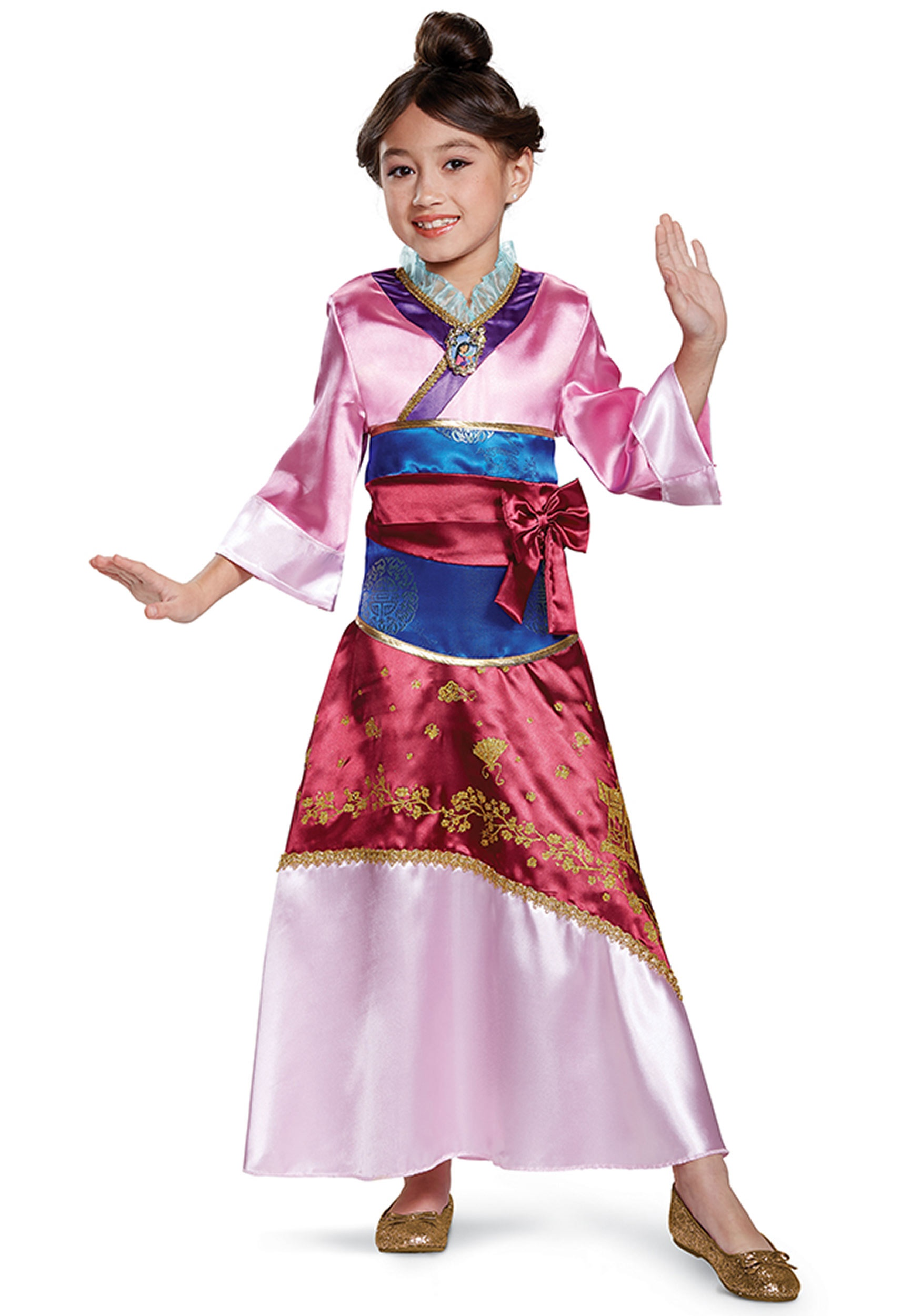 Mulan Deluxe Costume