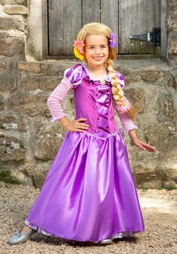 Click Here to buy Rapunzel Classic Kids Costume from HalloweenCostumes, CDN Funds