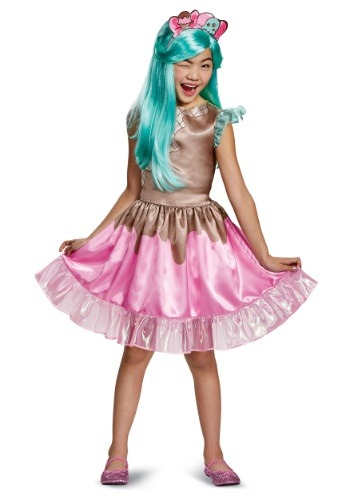 Click Here to buy Peppa-Mint Classic Kids Costume from Shopkins from HalloweenCostumes, USA Funds & Shipping