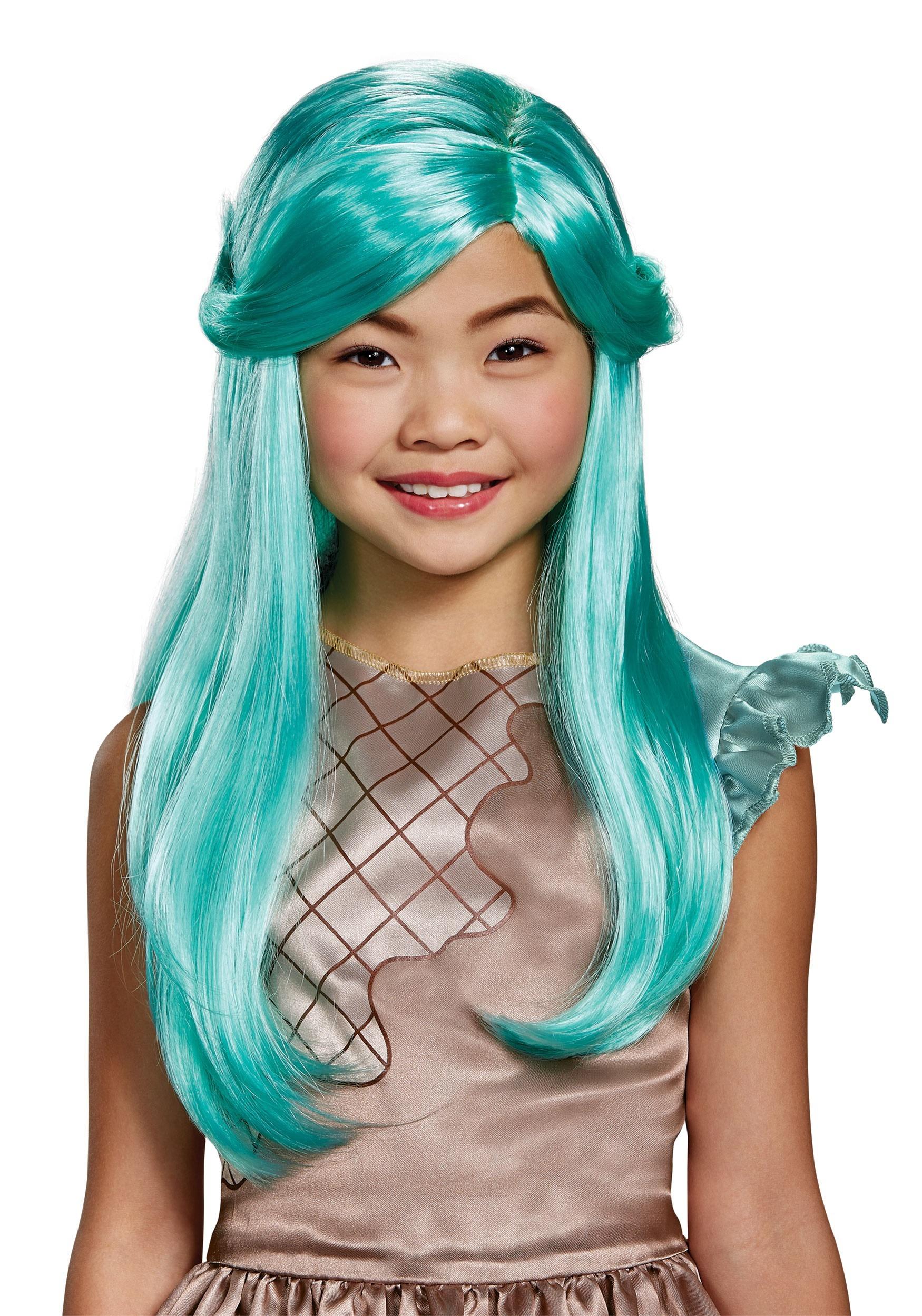 3c9460bcb Peppa-Mint Child Wig from Shopkins
