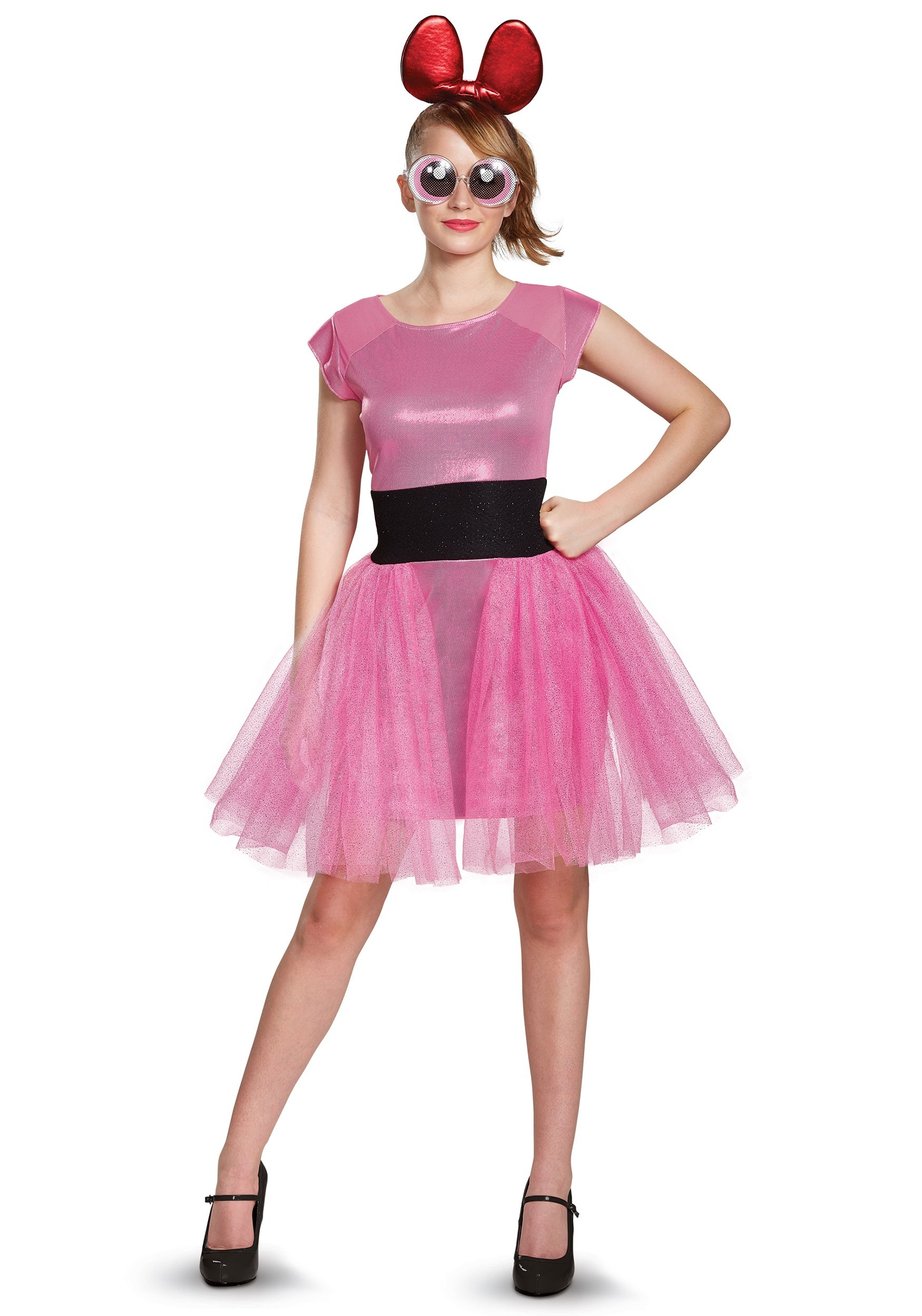 Powerpuff Girls Blossom Deluxe Adult Costume  sc 1 st  Halloween Costumes : powerpuff girls costumes for adults  - Germanpascual.Com