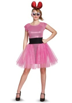 Powerpuff Girls Blossom Deluxe Adult Costume