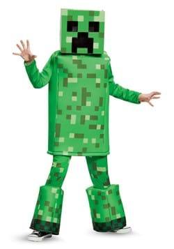Minecraft Creeper Prestige Boys Costume DLC