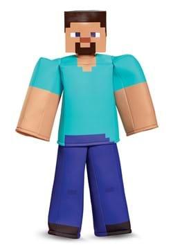 Boys Minecraft Steve Prestige Costume DLC