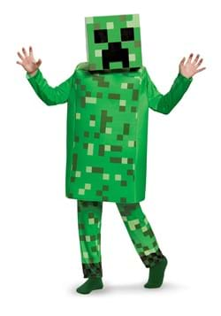 Minecraft Creeper Deluxe Costume Boys DLC