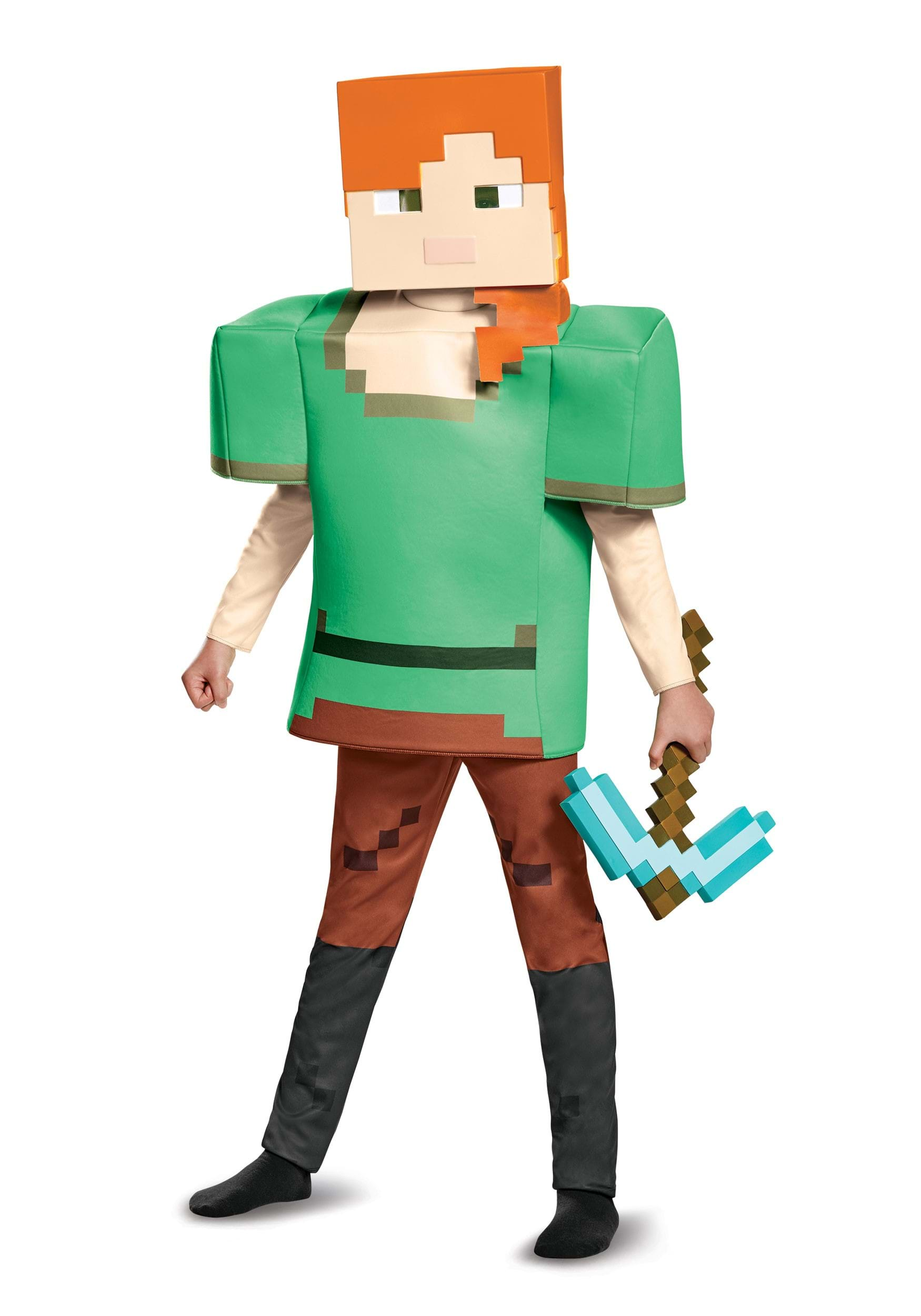 Minecraft Alex Deluxe Costume Child  sc 1 st  Halloween Costumes & Minecraft Alex Deluxe Child Costume