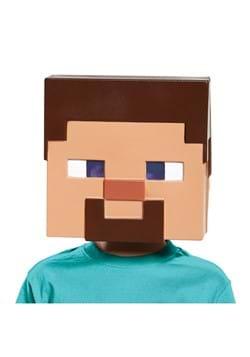 Kids Minecraft Steve Vacuform Mask main1