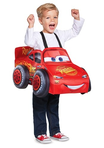 Cars Lightning McQueen 3D Toddler Costume Main UPD