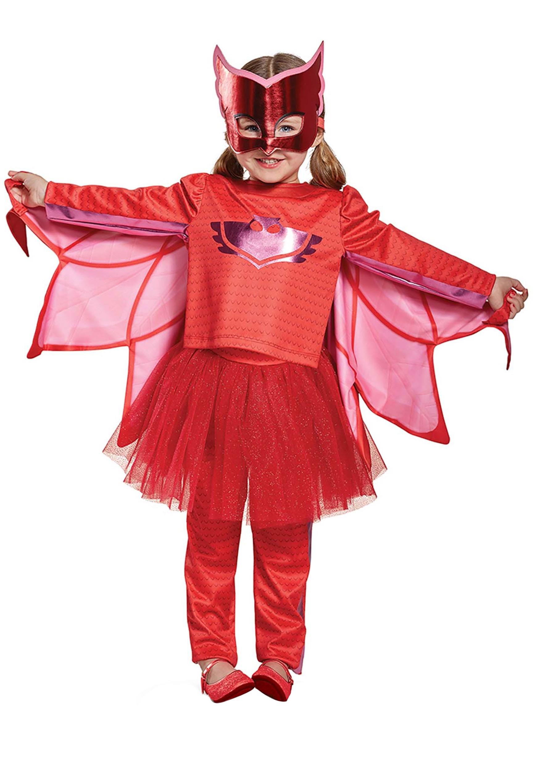 Pj Masks Owlette Prestige Tutu Costume For Toddler Girls