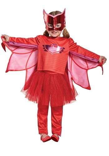 PJ Masks Owlette Prestige Tutu Costume for Toddler Girls