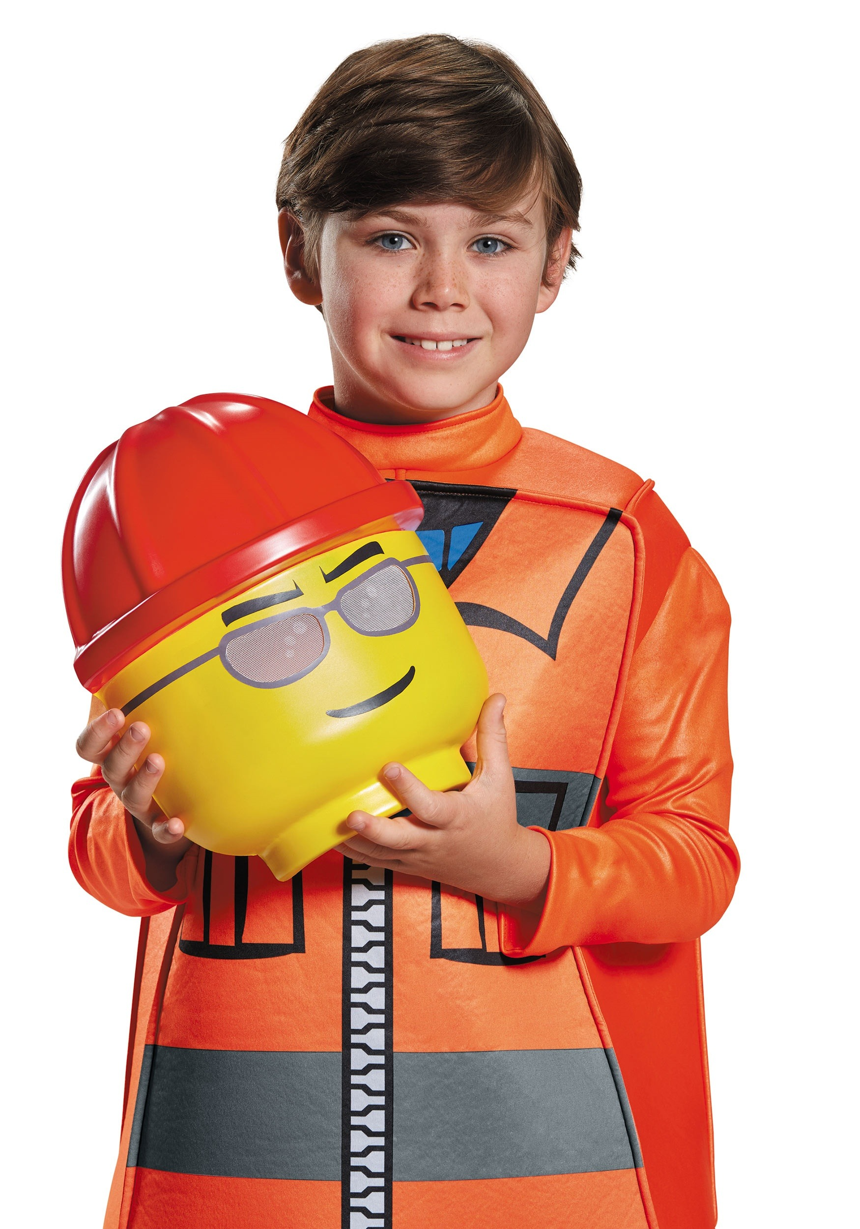 lego construction worker deluxe costume for boys