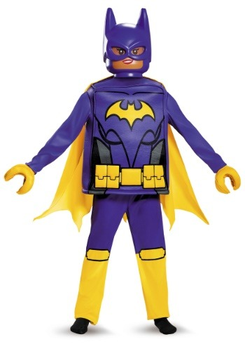 Click Here to buy Girls Batgirl Lego Movie Deluxe Kids Costume from HalloweenCostumes, USA Funds & Shipping