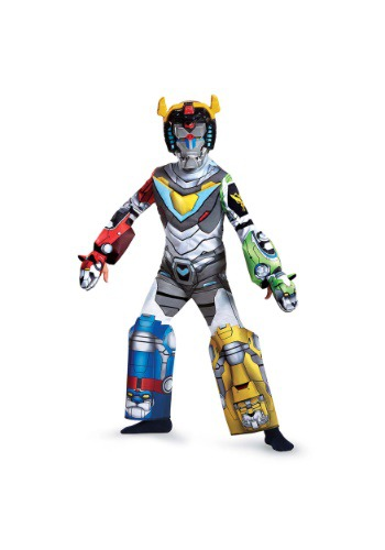 Click Here to buy Voltron Deluxe Boys Costume from HalloweenCostumes, USA Funds & Shipping
