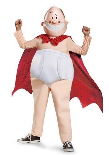 Click Here to buy Boys Captain Underpants Deluxe Costume from HalloweenCostumes, USA Funds & Shipping
