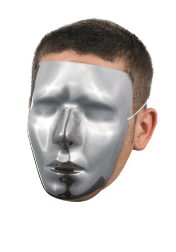 Click Here to buy Blank Male Chrome Mask from HalloweenCostumes, CDN Funds