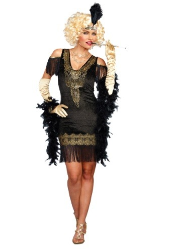 Women's Swanky Flapper Costume