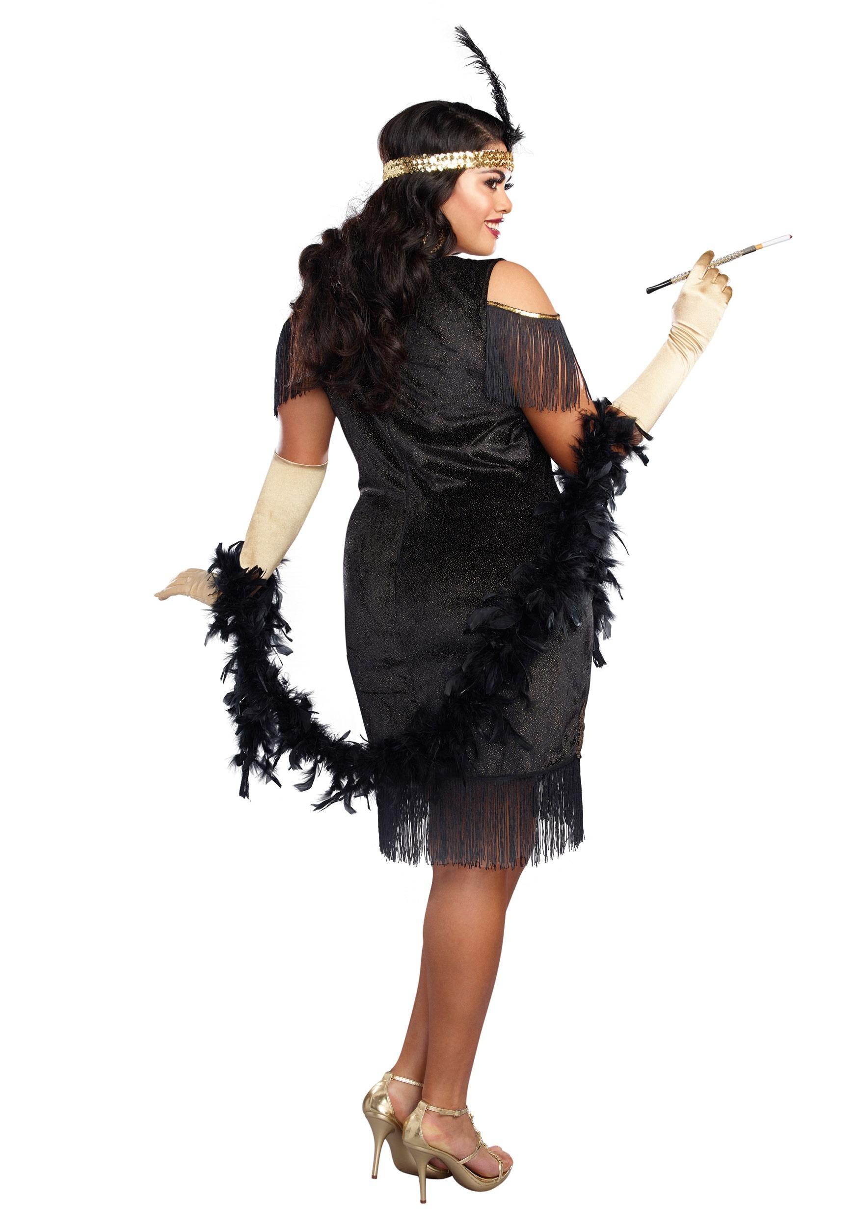 efffc70acc3 Women's Plus Size Swanky Flapper Costume
