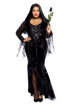 Women's Mortuary Mama Plus Size Costume