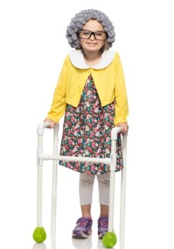 Child Grandma Costume