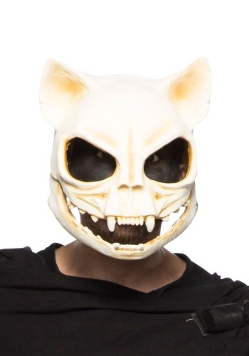 Image of Cat Skull Mask for Adults