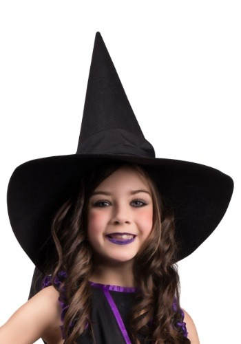 Image of Witch Hat with Bow for Kids
