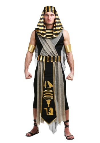 All Powerful Pharaoh Plus Size Costume for Men