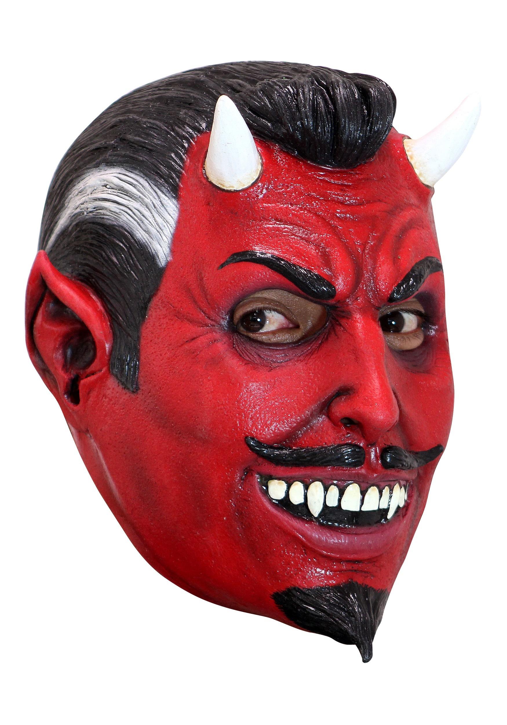 El Diablo Mask for Adults