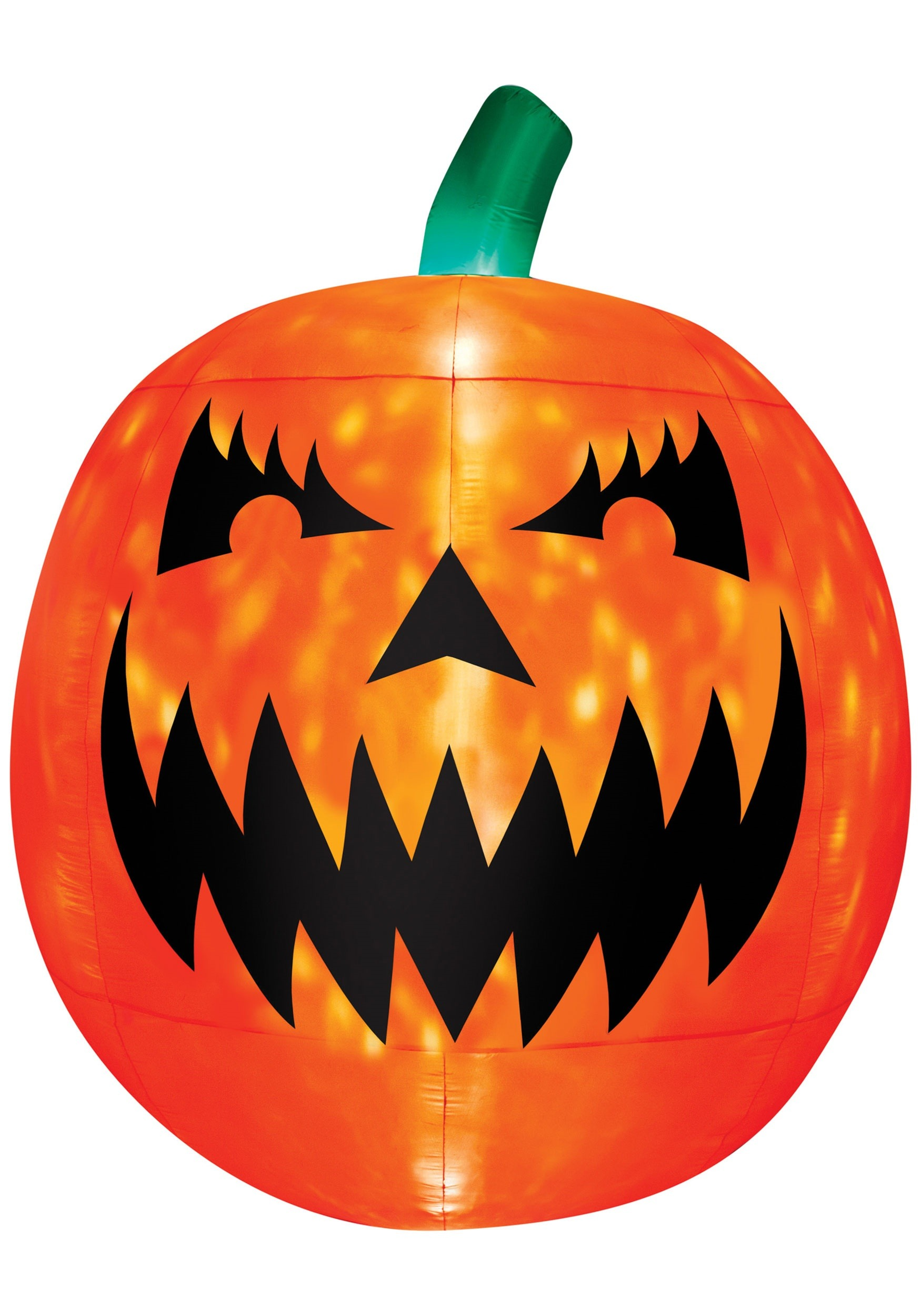 Inflatable Light Up Scary Pumpkin Decoration