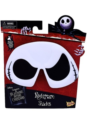 Click Here to buy Jack Skellington Sunglasses from the Nightmare Before Christmas from HalloweenCostumes, USA Funds & Shipping