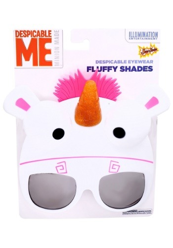 Click Here to buy Despicable Me Fluffy Sunglasses from HalloweenCostumes, USA Funds & Shipping