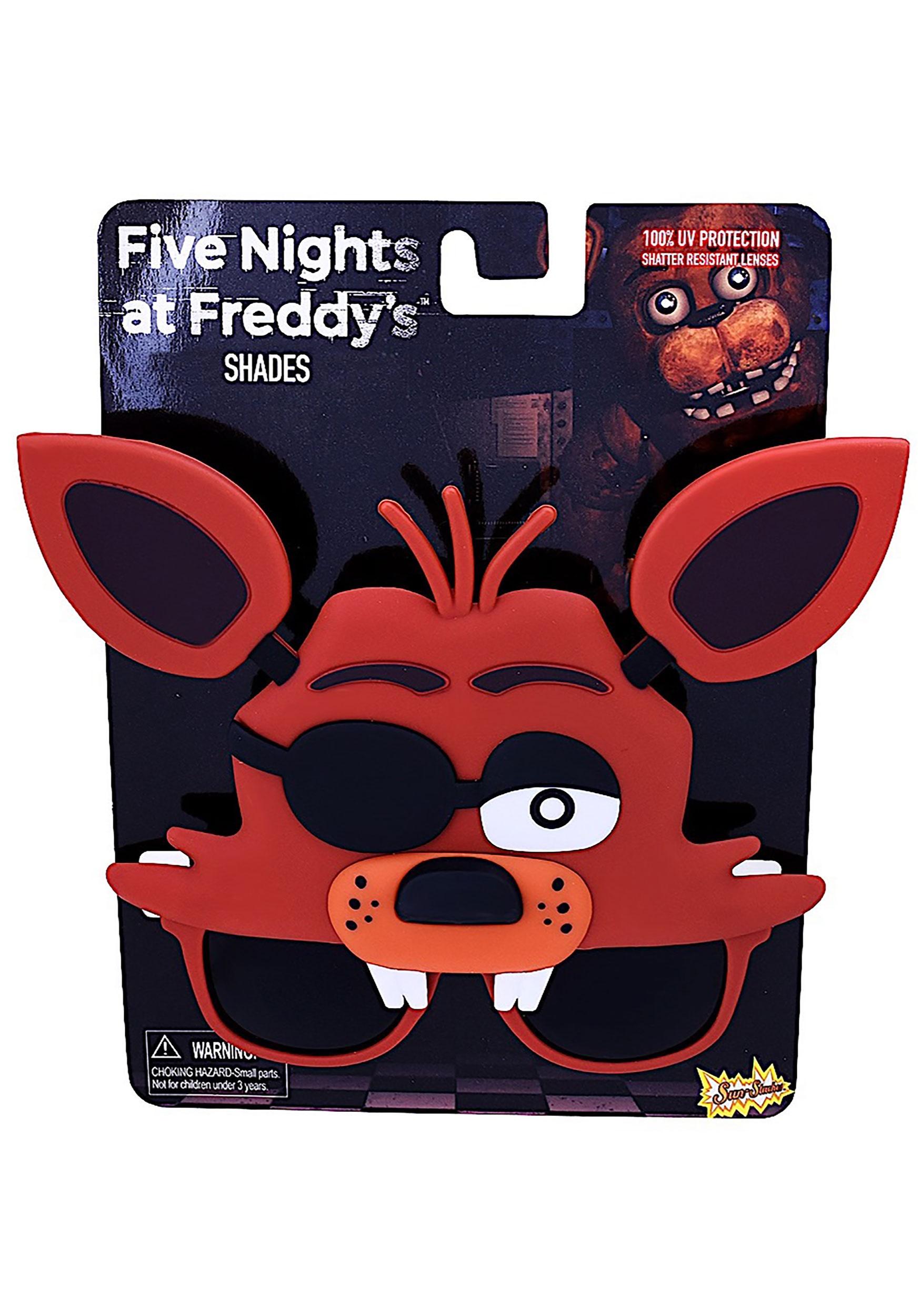 Five Nights At Freddy S Bedroom Decor: Foxy Sunglasses From Five Nights At Freddy's