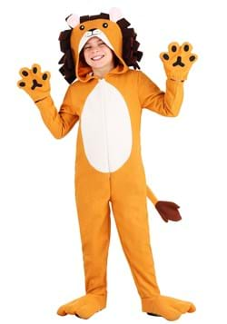 Kids Wooly Lion Costume