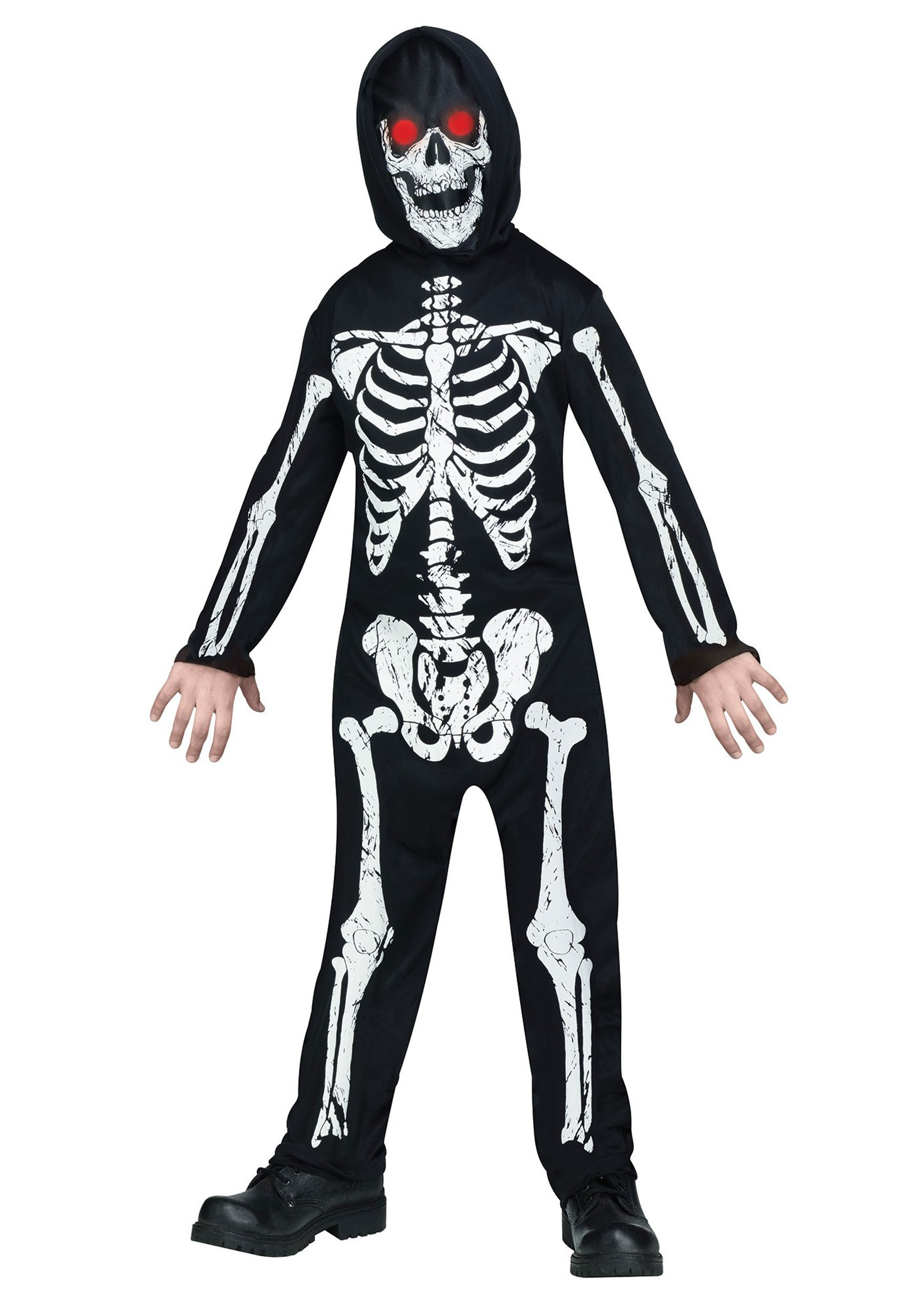 4c63091ab6 Kids Fade in/out Skeleton Costume