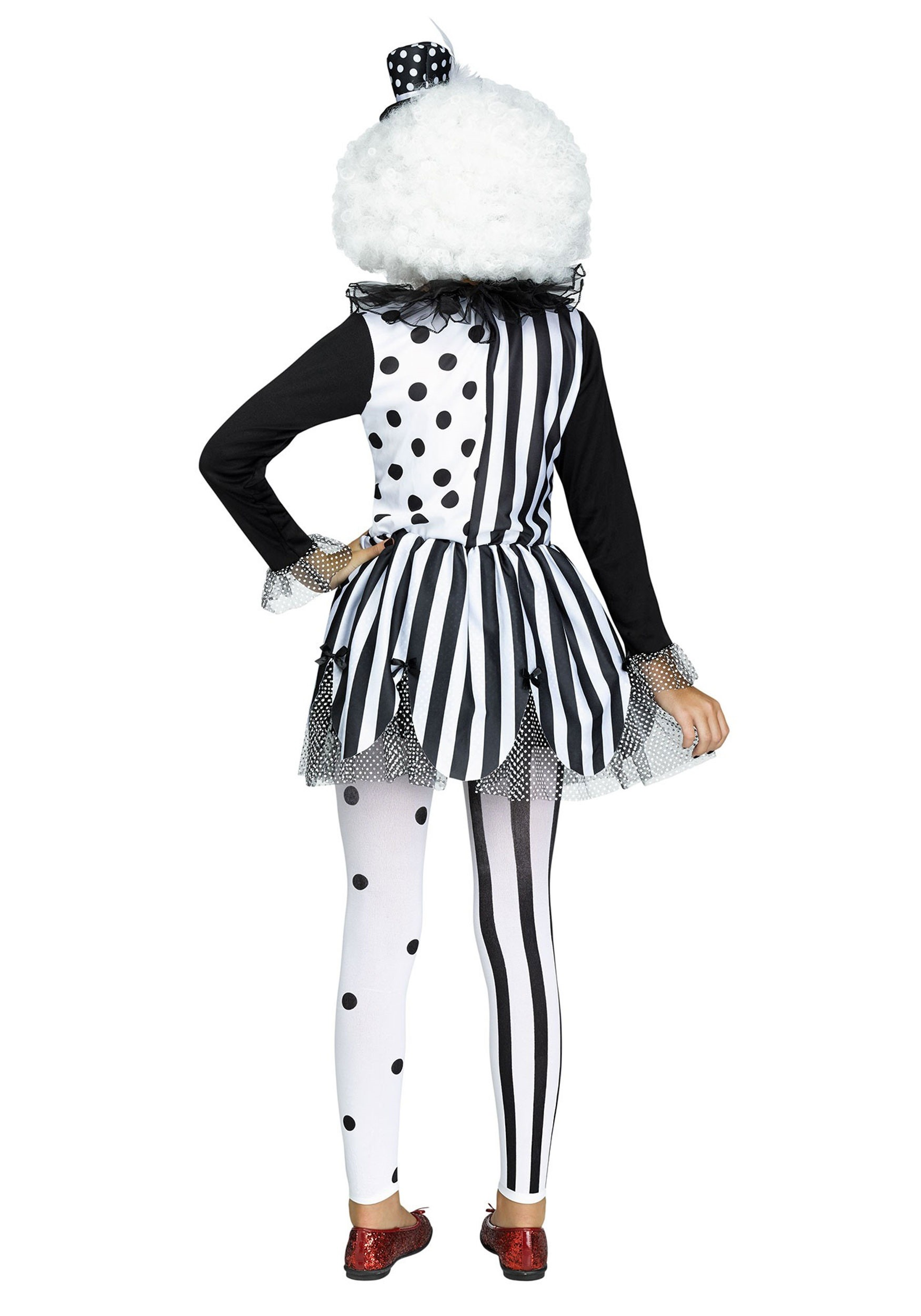 Killer Clown Girls Costume Killer Clown Girls Costume  sc 1 st  Halloween Costumes : black and white clown costumes  - Germanpascual.Com