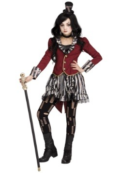 Girls Freakshow Ringmistress Costume