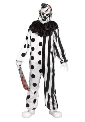 Click Here to buy Teen Killer Clown Costume from HalloweenCostumes, CDN Funds