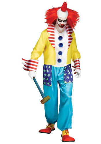 Click Here to buy Wicked Clown Master Mens Costume from HalloweenCostumes, USA Funds & Shipping