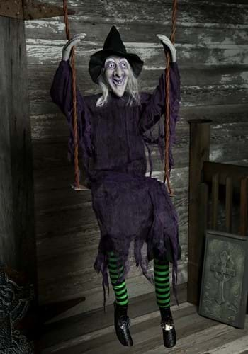 Swinging Witch Decoration upd