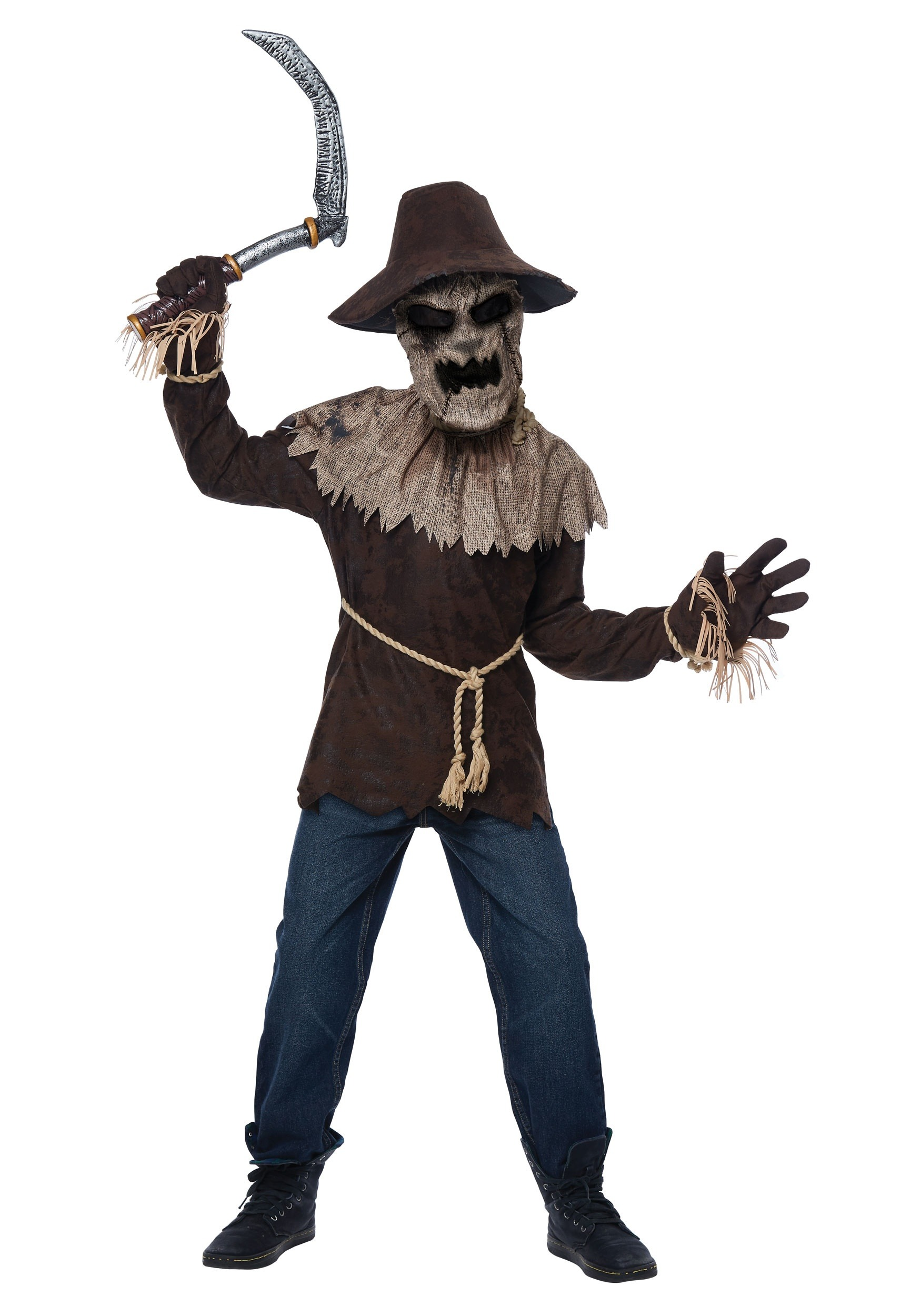 nightmare scarecrow costume for boys