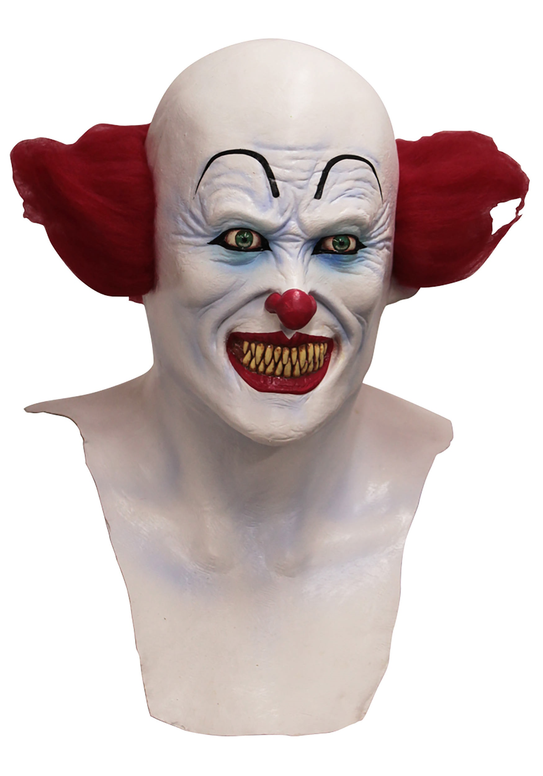 scary demon clown mask for adults