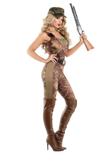 Image of Hunter Hottie Costume for Women