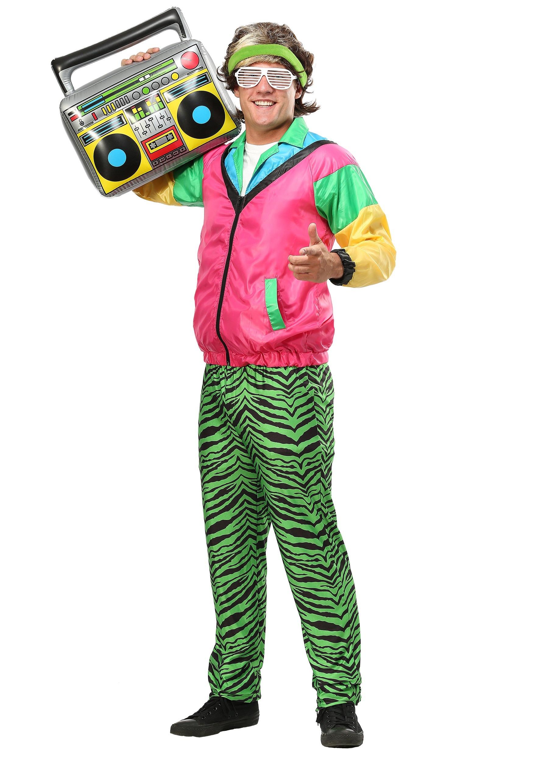80s Jock Costume for Men