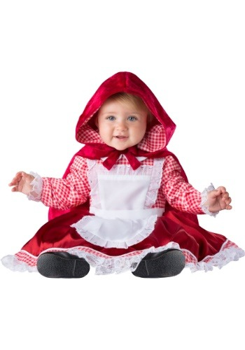 Click Here to buy Little Red Riding Hood Deluxe Costume for Babys from HalloweenCostumes, USA Funds & Shipping