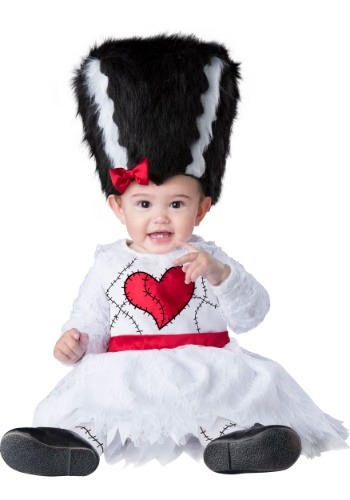 Click Here to buy Monster Bride Costume for Babys from HalloweenCostumes, CDN Funds